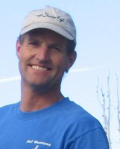 Nick Wiltz, inventor of the WindPaddle kayak and canoe sail.