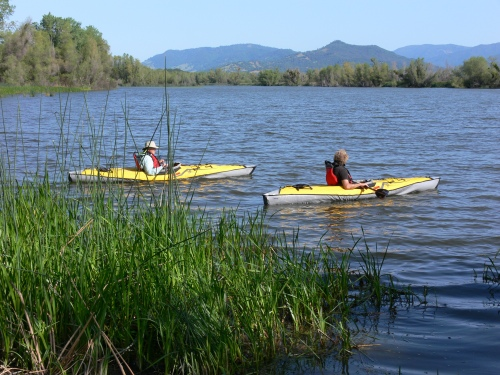 Kayaking on Rodman Slough