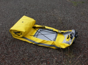 Angler Kayak deflated