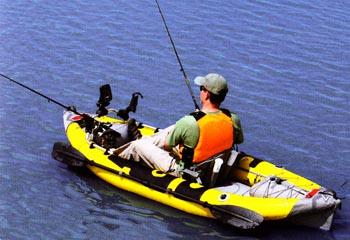 Sevylor Self Bailing Inflatable Kayak