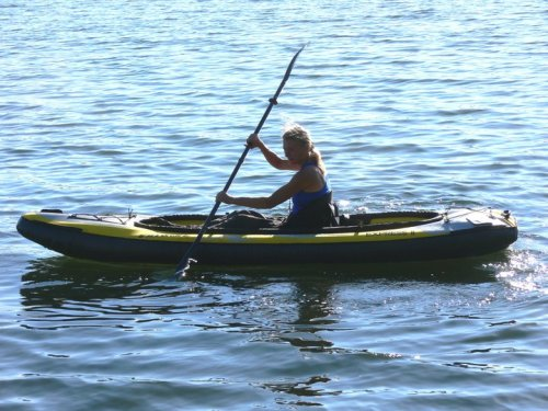 Maxxon Express Inflatable Tandem Kayak