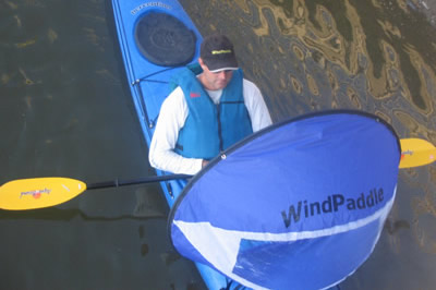 Enjoy hands-free downwind sailing!