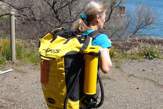 Product Review Updated Airis Sport 11 Inflatable Kayak From Walker Bay Fits Inside The Included Backpack