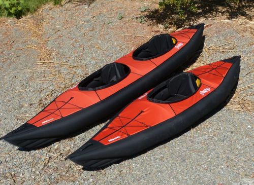 The Innova Swing I and Swing II kayaks.