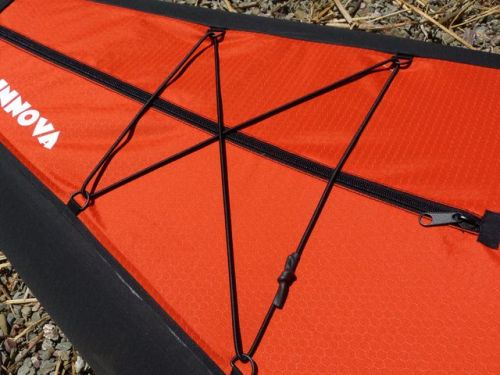 Bungee deck lacing