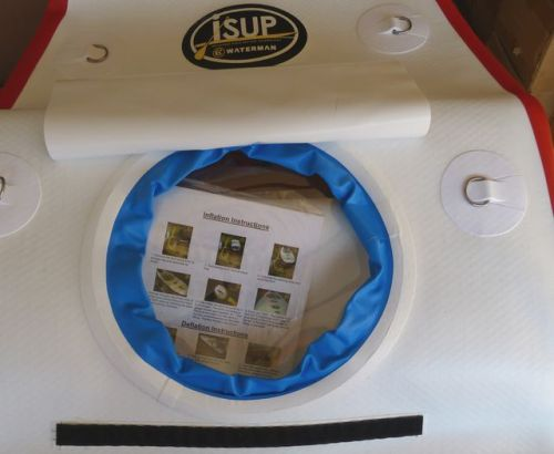 See-through viewing panel in the 10-9 XXL Window ISUP
