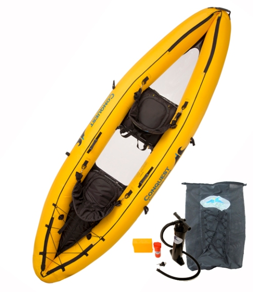 Conquest Dyad Inflatable Kayak