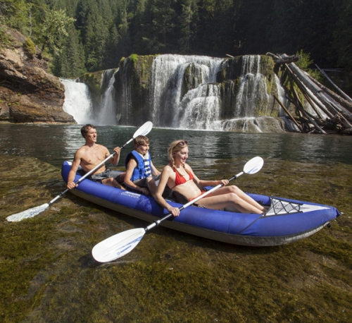 AquaGlide Chinoon Tandem XL Inflatable Kayak