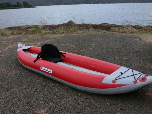 Maxxon MK1205 Selfbailing Inflatable Whitewater Kayak