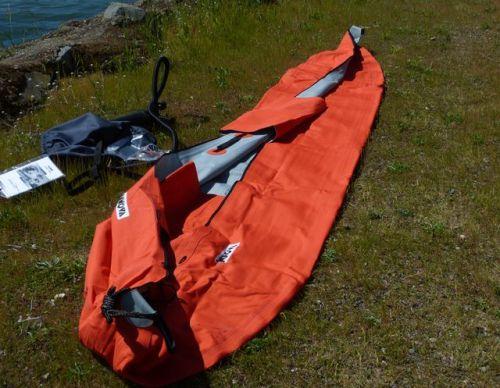 Unfold the kayak