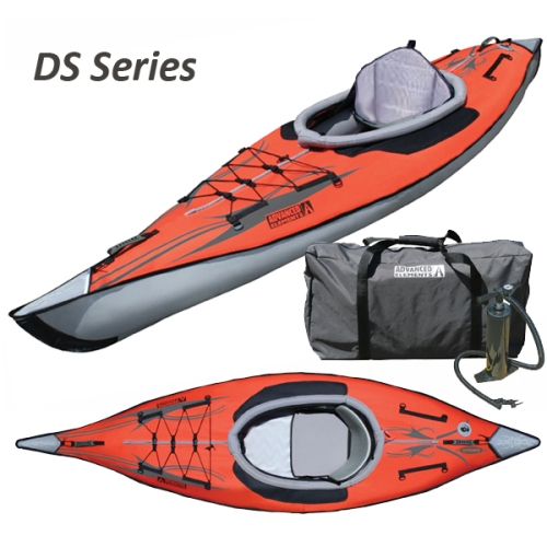 New Red AdvancedFrame DS Series Inflatable Kayak