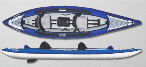 Columbia Tandem HB Inflatable Kayak from Aquaglide