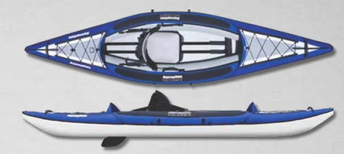 Columbia One HB Inflatable Kayak from Aquaglide