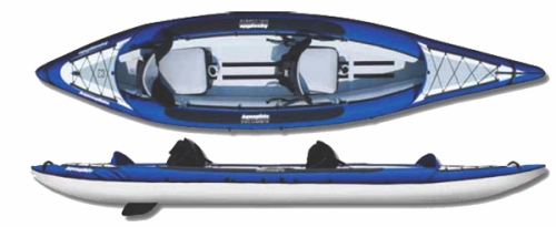 Columbia Two HB Inflatable Kayak from Aquaglide