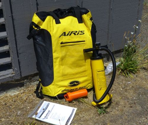 Backpack, dual action pump, repair kit and instructions