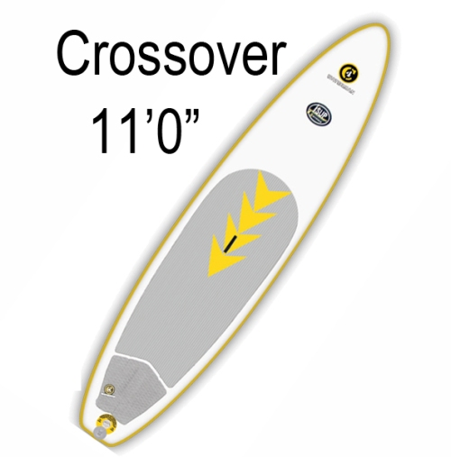 "C4 Waterman 11"" Crossover Inflatable SUP"