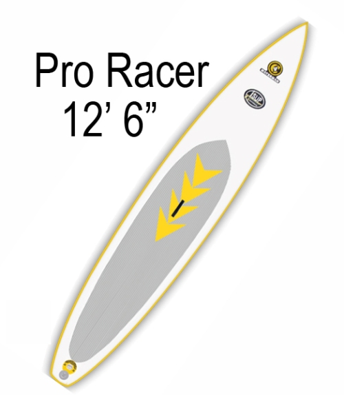 "C4 Waterman Pro Racer 12'6"" Inflatable SUP"