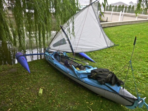 Second evolution of the sail rig