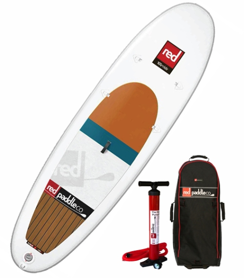 2014 Red Air Ride 10-6 Inflatable SUP