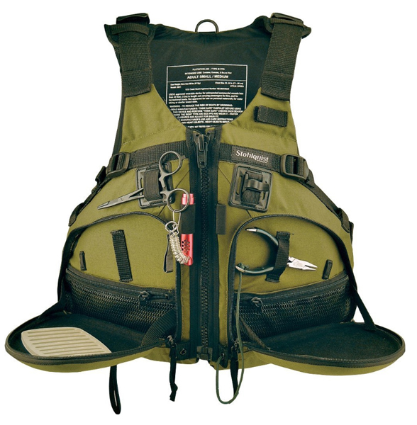10 neat fishing gifts for a kayaking angler for Kayak fishing vest