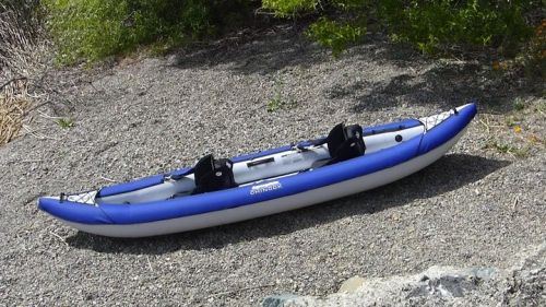 Chinook Tandem Inflatable Kayak from AquaGlide.