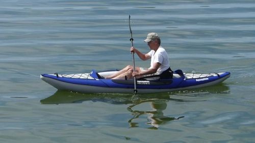 Columbia One HB inflatable kayak on the water