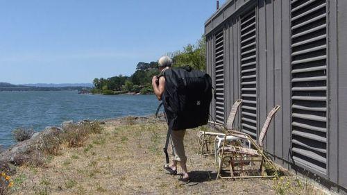 The Columbia Tandem kayak backpack.