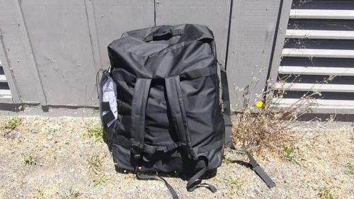 Columbia Tandem backpack is roomy.