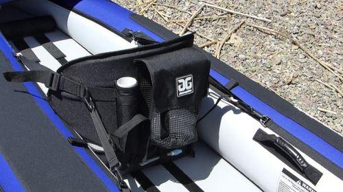 Fishing rod holders and mesh pocket
