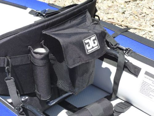 Fishing rod holders on Proformance seat
