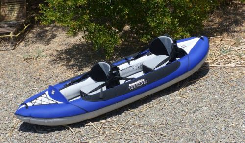 Deschutes Two HB inflatable kayak from Aquaglide