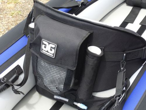 Mesh bag and fishing rod holders
