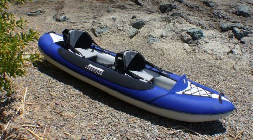 Deschutes 2 Inflatable Kayak from AquaGlide