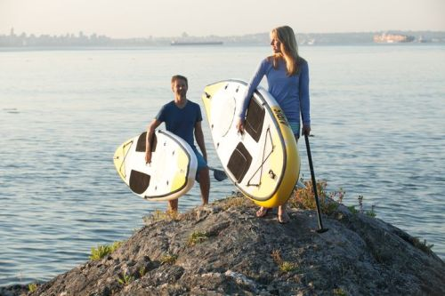 New Airis HollowDeck inflatable SUPS in two sizes
