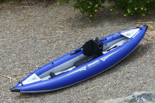 Klickitat One HB inflatable kayak from AquaGlide