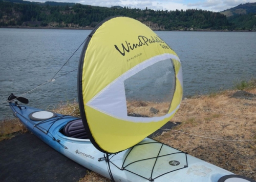 New Windpaddle Adventure with 25% more sail area.
