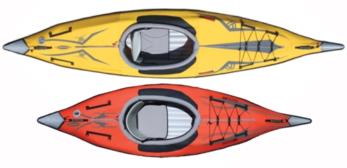 Advanced Elements Expedition vs AdvancedFrame Inflatable Kayak