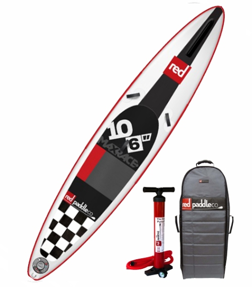 Red Paddle Co Max Race 10-6 Inflatable SUP.