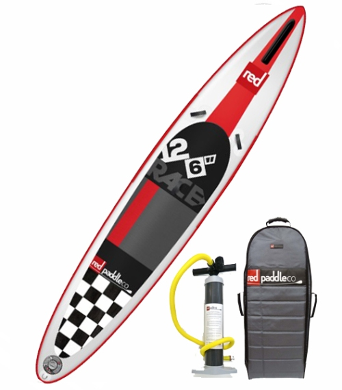 2015 Red Paddle Co Race 12-6 Inflatable SUP