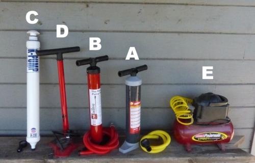 SUP Pump Line-up