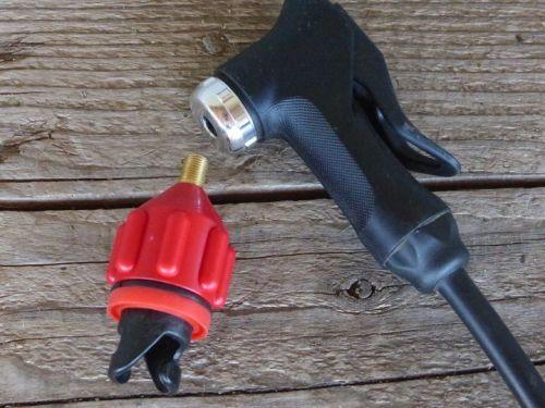 Schrader valve and adaptor