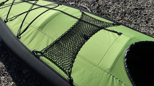 Mesh cargo net with d-rings