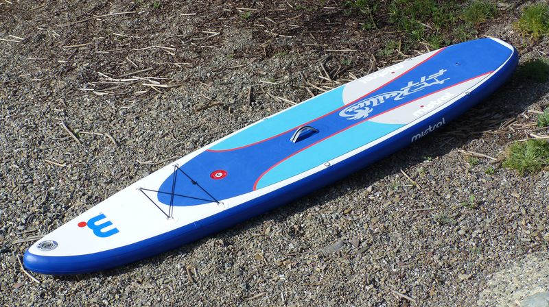 Product Review: Mistral Kailua Fit 11-5 Inflatable Fitness Paddle