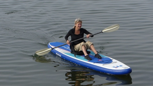 Kailua Fit as a sit-on-top kayak