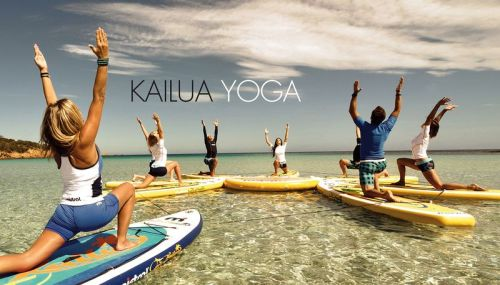 Mistral Kailua Fit as a yoga board