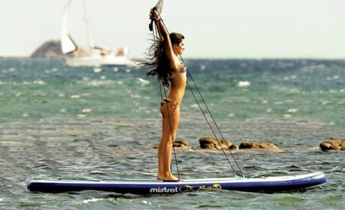 Mistral Kailua Fit as a yoga board