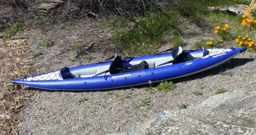 AquaGlide Chelan HB Tandem XL Inflatable Kayak