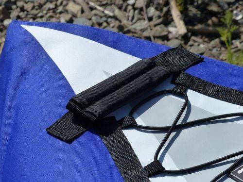 Padded cloth handle