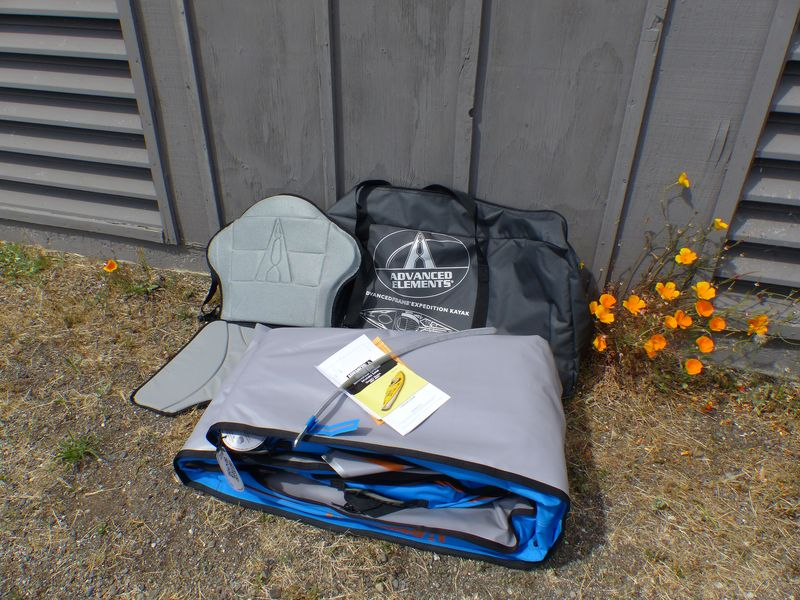 Advanced Elements Advancedframe Expedition Limited-edition Inflatable Kayak