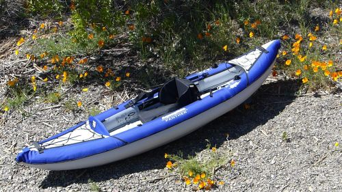 AquaGlide Panther inflatable kayak